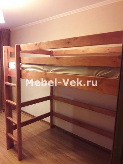 Кровать Двухярусная Маяк Классический орех 2..