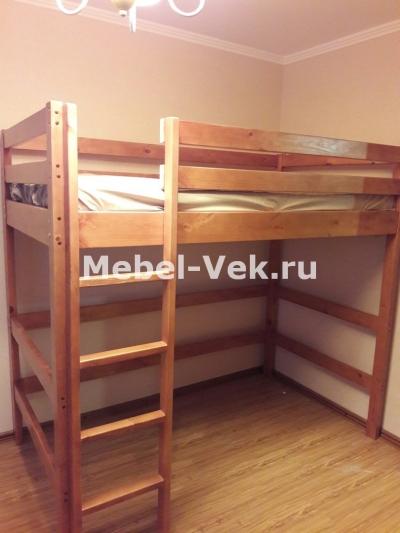 Кровать Двухярусная Маяк Классический орех 2