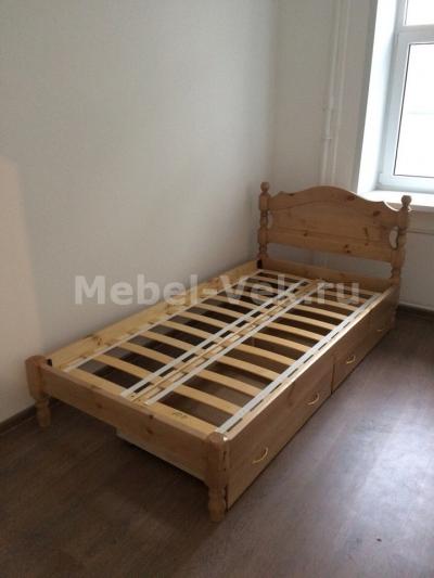 Кровать Корсика Венге 1-2