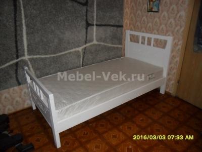 Кровать Монако цвет белый