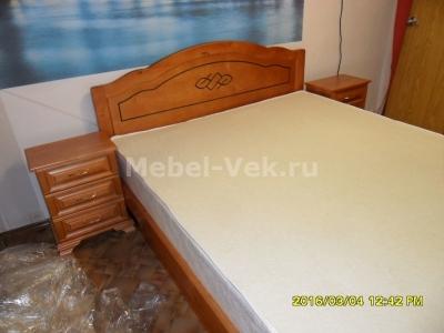 Кровать Севилья Старый орех 2