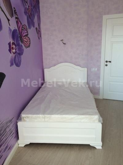 Кровать Торино Белый