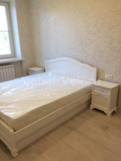 Кровать Торино цвет Белый