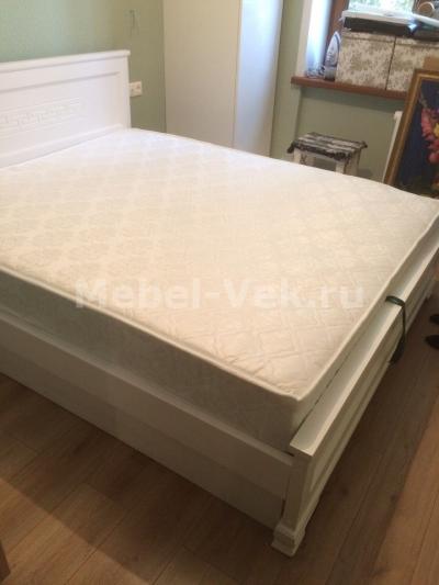 Кровать Венеция белая