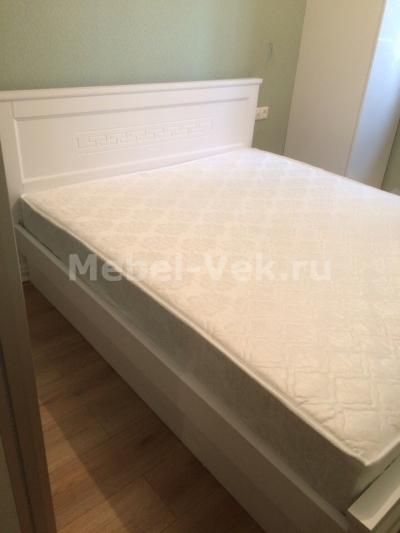 Кровать деревянная Венеция Белый