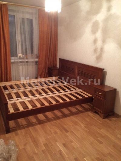 Кровать Венеция классический орех 2-3