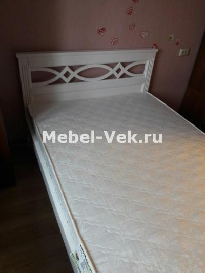 Кровать Музы Цвет белый