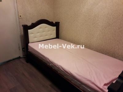 Однопсальная кровать Гермес венге 3