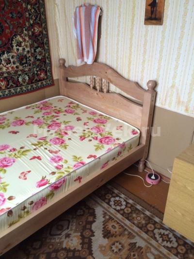 Односпальная кровать Алушта Венге 1-2