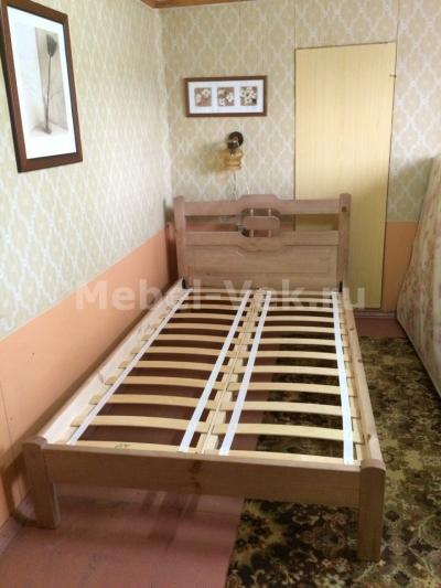 Односпальная кровать Ванкувер Венге 1-2