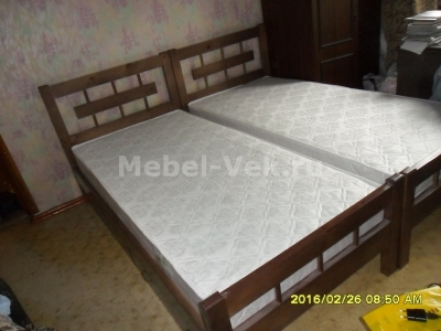 Односпальная кровать Веста Венге 2