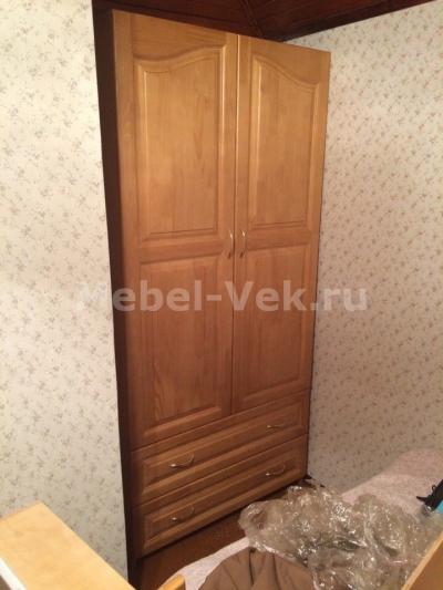Шкаф Витязь-114 класический орех 1