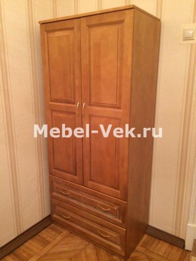 Шкаф Витязь 111 классический орех 2