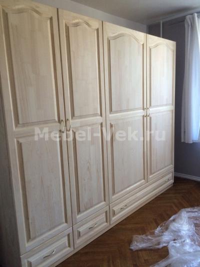 Шкаф Витязь 120 не крашенный не лаченный нестандартных размеров
