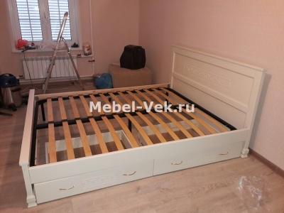 Кровать Венеция Слоновая кость